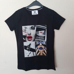 Tshirt CC Chanel